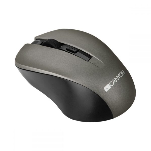 Canyon Wireless Simple coloured mouse Grey
