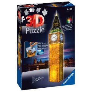 3D PUZZLE NIGHT EDITION 216 ΤΕΜ. BIG BEN