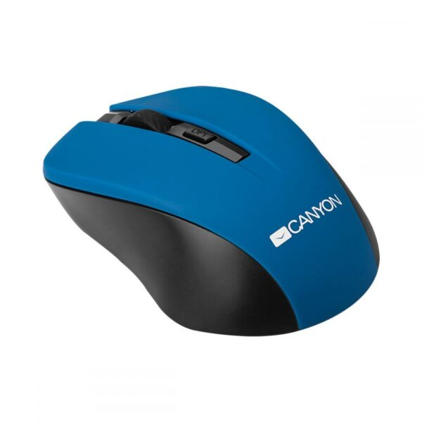 Canyon Wireless Simple coloured mouse Blue