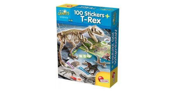 T - REX + 100 stickers